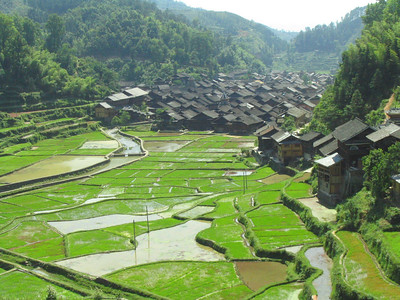 Beautiful Zhaoxing.  One of my favorite stops in China.