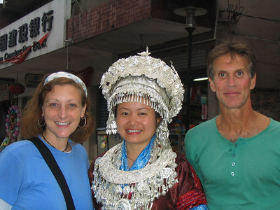 How many Miao people get Americans at their wedding party.  Andy and I were a big hit.