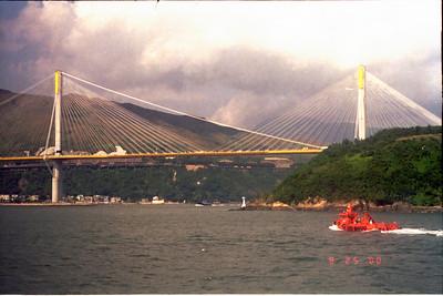 20000925 Ting Kau bridge Hong Kong