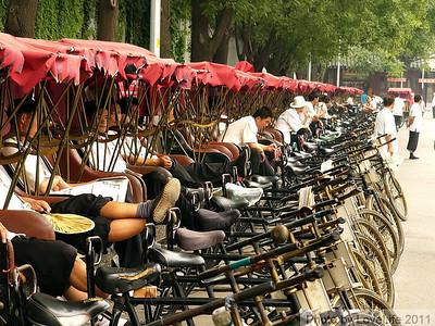 Pedicab Stand