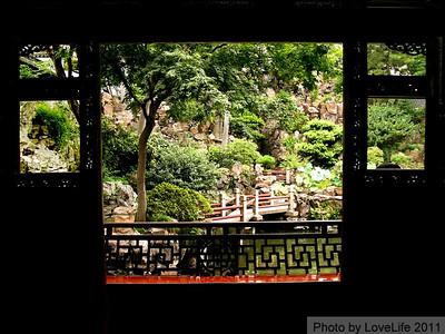 Chinese Garden Windows ~ Shanghai