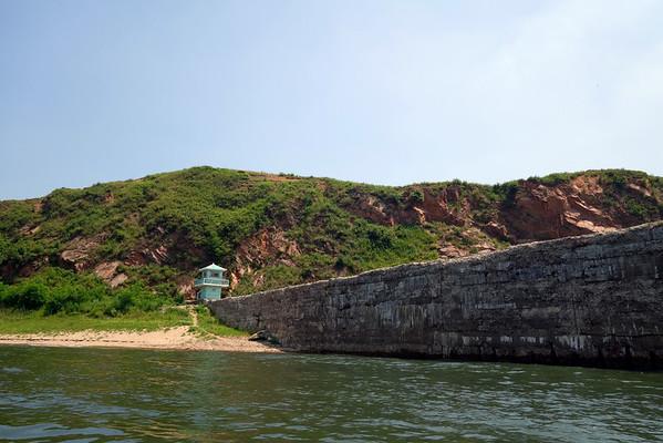 China -North Korea border line trekking 中朝边境徒步
