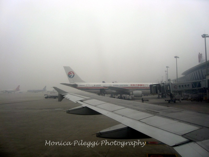 Our arrival in Xian