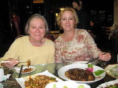 Delicious dinner in Xian