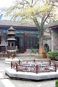 A small temple in Xian