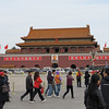 The entrance to the Forbidden City where Mao proclaimed the founding of the People's Republic of China in 1949.