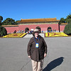 Susan at the entrance of the tomb of Yongle, the third Ming emperor, from the 15th century.