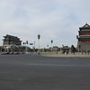 The double gate at the foot of Tian'an Men Square, one of the few surviving sections of the walls of Beijing.