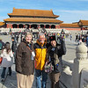 In the Forbidden City with Bill and Laurie.