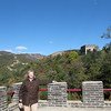 Susan on the Great Wall of China at the Mutianyu section.