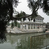 The Dragon Lady's marble boat at the Summer Palace