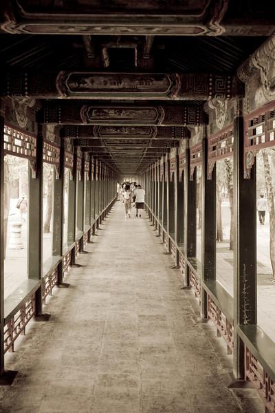 """The """"Long Corridor"""" at the Summer Palace"""