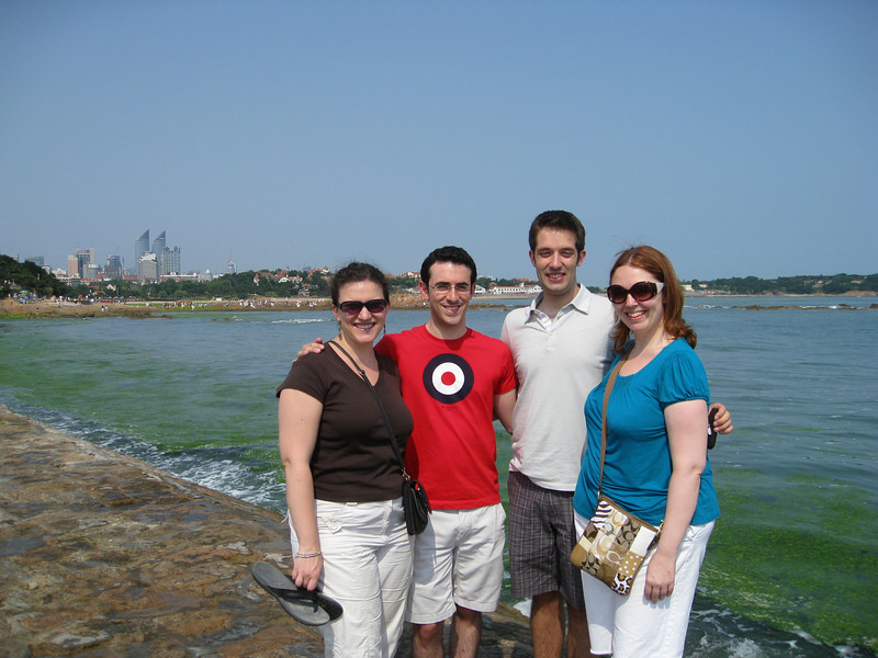 Jessica, John, Michael, and Liz