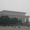 Mao's tomb in Tiananmen Square