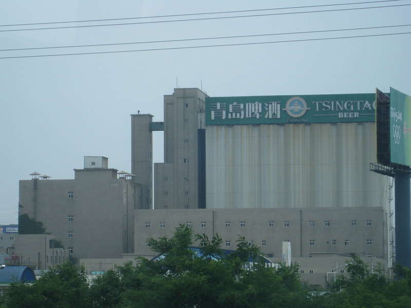 Qingdao is home of Tsingtao Brewery, the most well-known beer from China