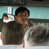 One of our tour guides in Qingdao