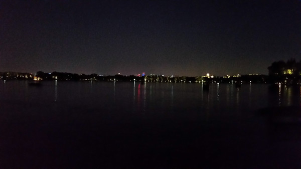 Lights across the lake