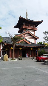 Huaxing Temple in Shenzhen