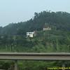 Roadside image driving to Chengdu. Chengdu-Chongqing Expressway, P. R. China. China trip 30 Aug to Sep 07 2008.