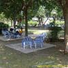 Tea garden near river. Longchang, Sichuan Province, P. R. China. China trip 30 Aug to Sep 07 2008.