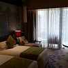 My first room at the Chengdu Crowne Plaza West hotel.  Got moved to a bigger room when the A/C didn't work.