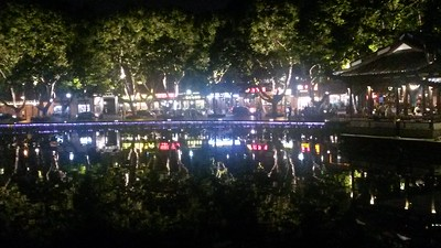 West Lake reflections