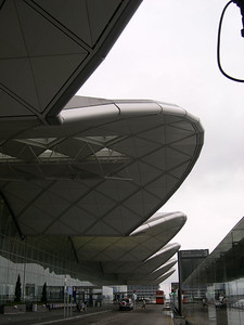 Distinctive airport architecture