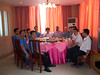 Group luncheon with supplier and sub-contractor