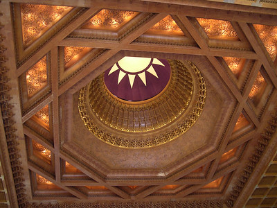 The sunlight in the Memorial Hall