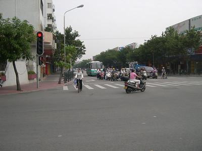 Panyu street scene