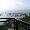 View of the SheKou Yacht Club from Room 701 at the Hilton Shenzhen SheKou Nanhai hotel