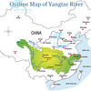 3720-mile Yangtze flows from Tibet to Shanghai.