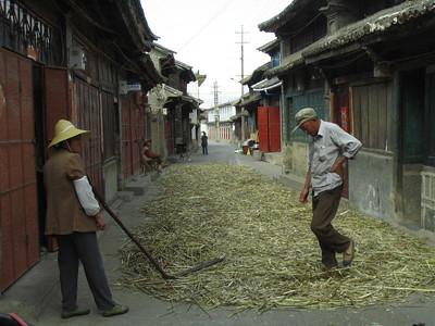 Small town of Xizhou a short 1 hour bike ride north of Dali.