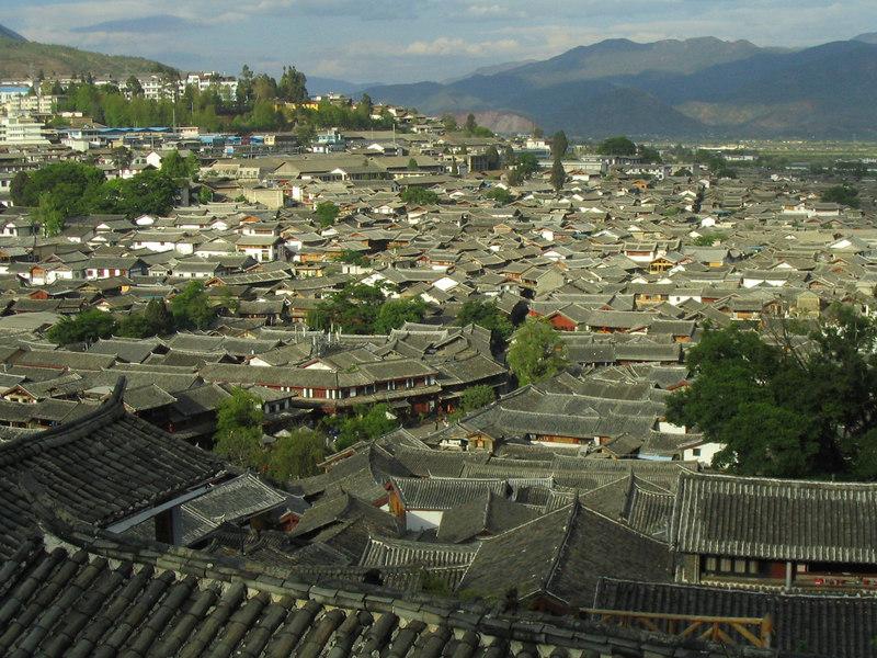 Rooftops of Li Jiang.