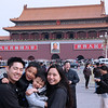 in Tienamin Square in front of Forbidden City
