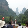 Entering the Zhangjiajie National Forest Park.  No better way to welcome its visitors than this !