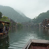 A boat ride down the river of the Fenghuang (Phoenix town) seem to bring us back in time to hundreds of years ago.