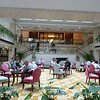 Hotel lobby in Huangshan area.