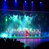 In addition to skillful dancing, fancy costumes and elaborate props, moving stage, the show employs lots of lighting and sound effects.