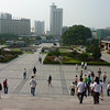 The Wuhan museum plaza