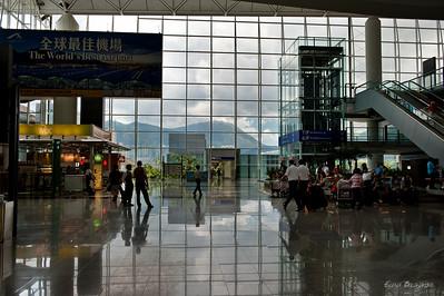 в аэропорту Гонк Конга