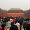 Be prepared to share the Forbidden City with 50 ~100 thousand people each day