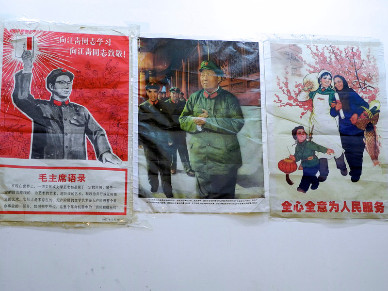 Many of these types of propaganda posters seen as historical relics