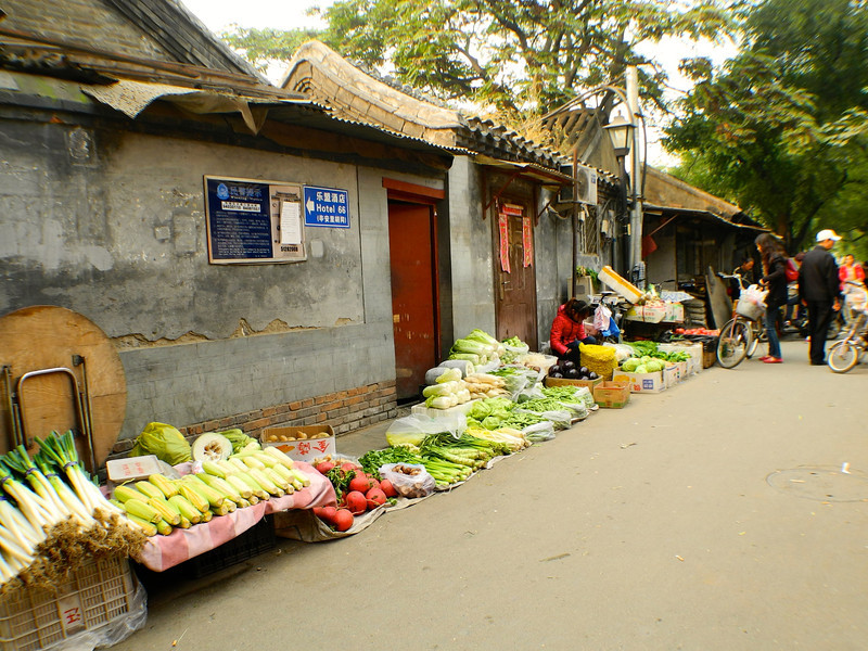 The local veggie market
