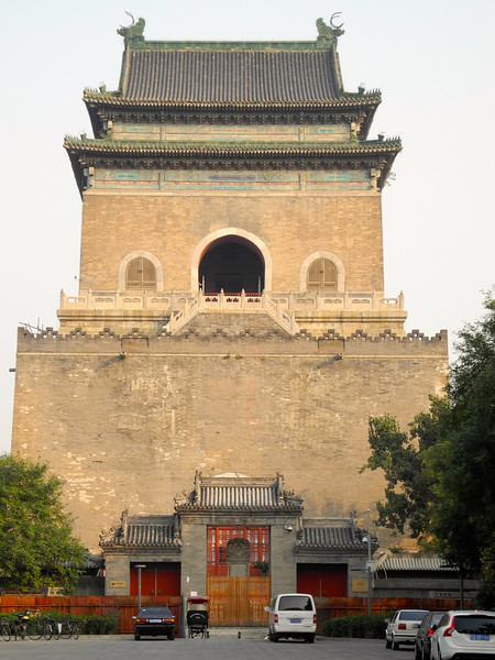 Beijing Drum Tower. Used to notify of the time. Drums on the odd hours, bell on the even hours.