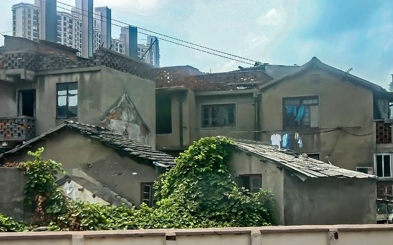 Wuxi, China<br /> from the train Nanjing- Shanghai