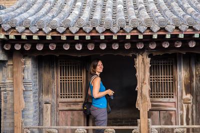 Wang's Family Compound (Wang Jia Dayuan)  near Pingyao village