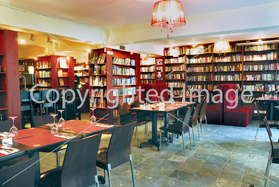Beijing, CHINA- Interior Design, Dining Room of French Restaurant, Cafe, Library, Lounge, Le Petit Gourmand, Sanlitun Area, 3rd Floor, Tongli Studio Directphoto