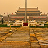 Tian'anmen Square, entrance to Forbidden City in the background