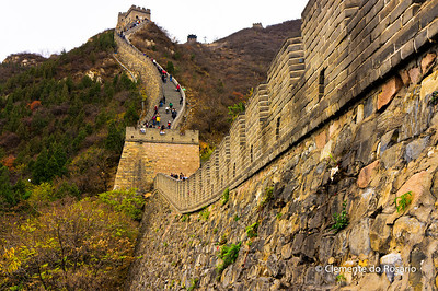 Great Wall at Juyongguan Pass, Beijing.